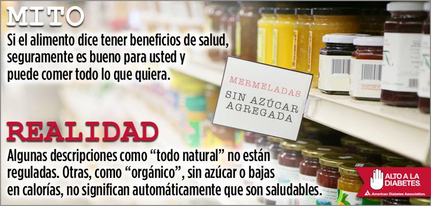 Mito - Si el alimento dice tener beneficios de salud...
