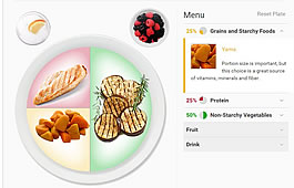 planning meals for people with diabetes