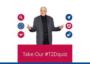 Join James Earl Jones. Take the Quiz