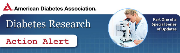 Diabetes Research Action Alert