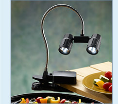Barbecue Work Clip Light - $19.99