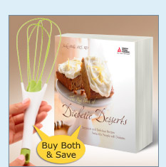 The Big Book of Diabetic Desserts Set - $22.99