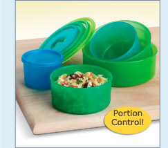 Portion-Measuring Bowl Set - $29.99