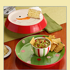Holiday Cake Stand Dip Platter - $24.99