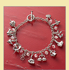 12 Days of Christmas Charm Bracelet - $14.99