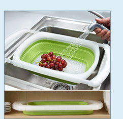 Collapsible Sink Colander - $22.99