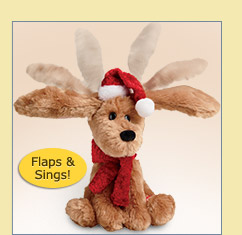 Ear-Flapping Musical Dog - $24.99