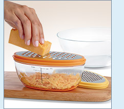 Measure and Store Grater - $19.99