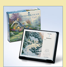 Thomas Kinkade Desk Calendar - $14.99