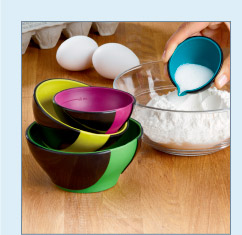 Pinch and Pour Measuring Bowls