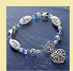 Peace, Love and Joy Bracelet