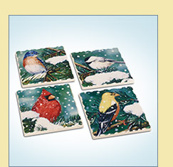 Songbird Stone Coasters