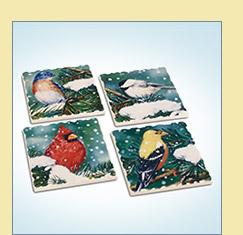 Songbird Stone Coasters