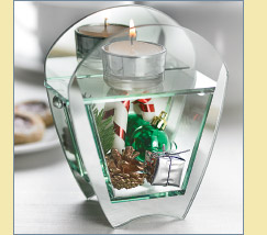 Holiday Charms Tea Light Holder