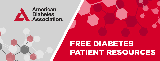 American Diabetes Association - Free Diabetes Patient Resources