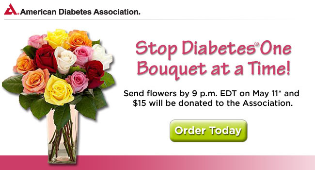 Stop Diabetes One Bouquet at a Time