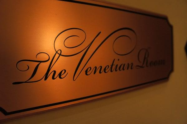 The Venetian Room logo