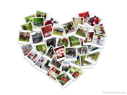 2013 Heart Photo Collage