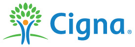 CIGNA (long ways logo)
