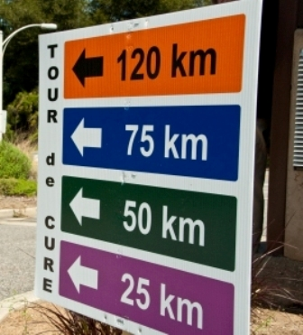 Photo: Route Sign