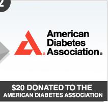 American Diabetes Association Stop Diabetes.