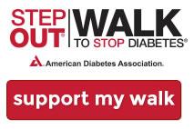 My Diabetes Walk Page