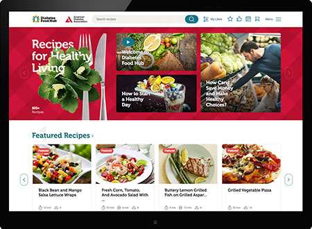 Recipes for healthy living is getting an upgrade join us at our new recipes for healthy living is getting an upgrade join us at our new home diabetes food hub forumfinder Gallery